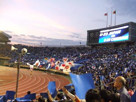 国立 ジャパンブルー.JPG